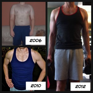 80 pounds fat loss
